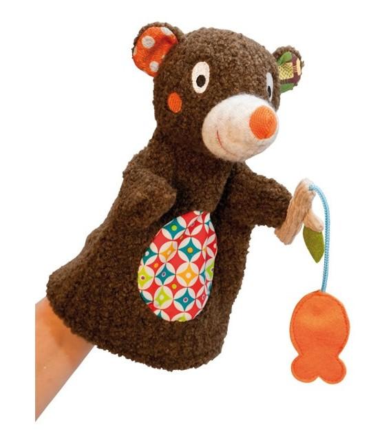 Ebulobo - Fishing Bear - Hand Puppet