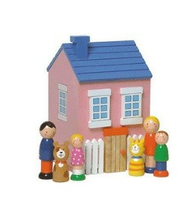Traditional Wooden Dolls House