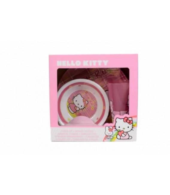 Dinner Set : Hello Kitty
