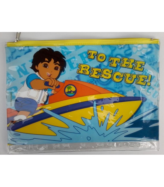 Go Diego Go - Pencil Case - Large
