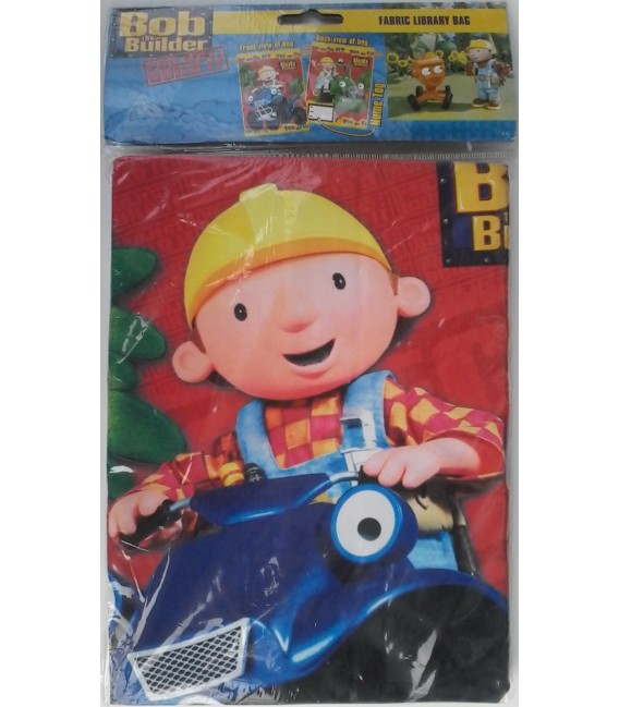 Bob the Builder Library Bag / Swimming Bag