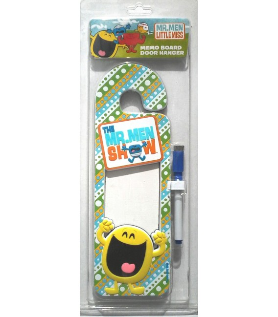 Mr Men Door Hanger Memo Board