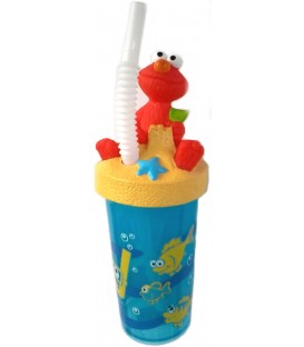Sesame Street Sculpted Elmo Sports Bottle