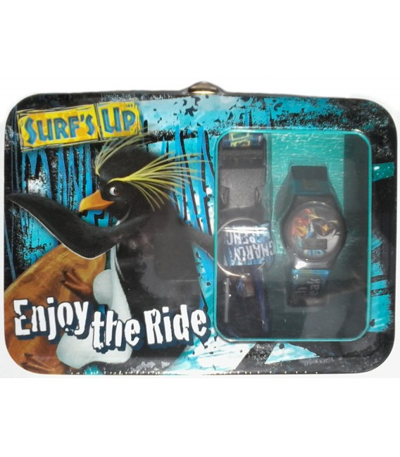 Surf's Up Watch, Lanyard and Lunch Box Set