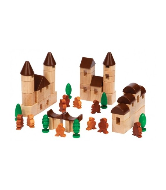 City Block Set (35 Pieces)