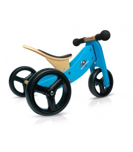 Kinderfeets Tiny Tot - Blue - Convertible Trike / Bike