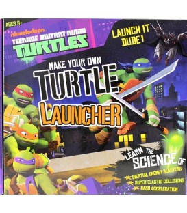 Teenage Mutant Ninja Turtles (TMNT) Make your own Turtle Launcher