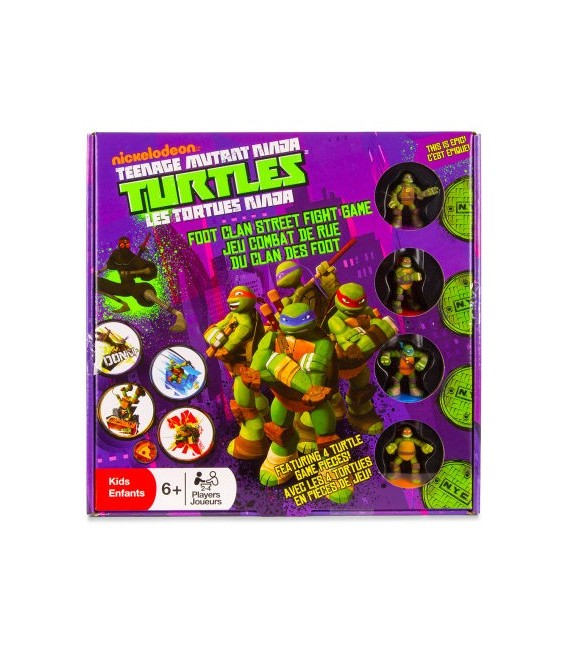 Teenage Mutant Ninja Turtles (TMNT) - Foot Clan Street Fight Board Game