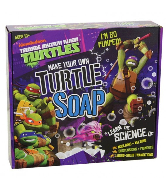 Teenage Mutant Ninja Turtles (TMNT) - Make your own Turtle Soap