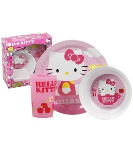 Hello Kitty - Mealtime Dinner Set