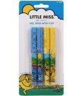 Little Miss Ballpoint Pens - 4 Pack