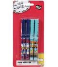 Bart Simpson Ballpoint Pens - 4 Pack