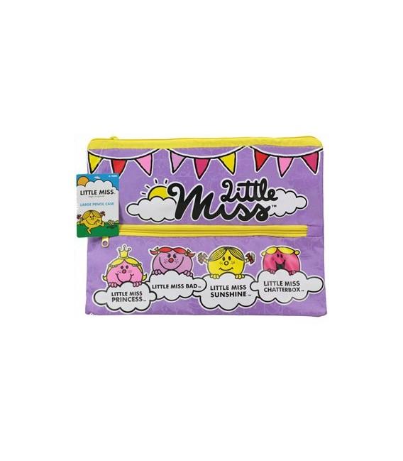 Little Miss - 2 zipper Pencil Case - Large