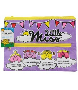 Little Miss - 2 zipper Pencil Case - Large
