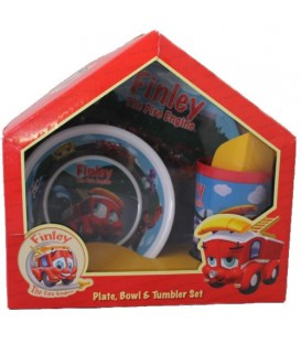 Finley the Fire Engine - Dinner Set