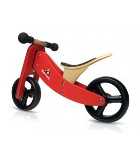 Kinderfeets Tiny Tot - Red - Convertible Trike / Bike
