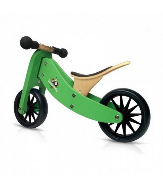 Kinderfeets Tiny Tot - Green - Convertible Trike / Bike