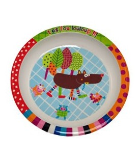 Ebulobo - Wolf Assiette Plate