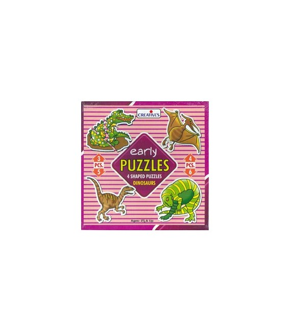 Early Puzzles - Dinosaurs