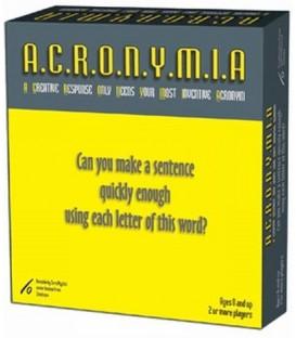 A.C.R.O.N.Y.M.I.A Word Game