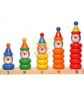 Clown Peg Board