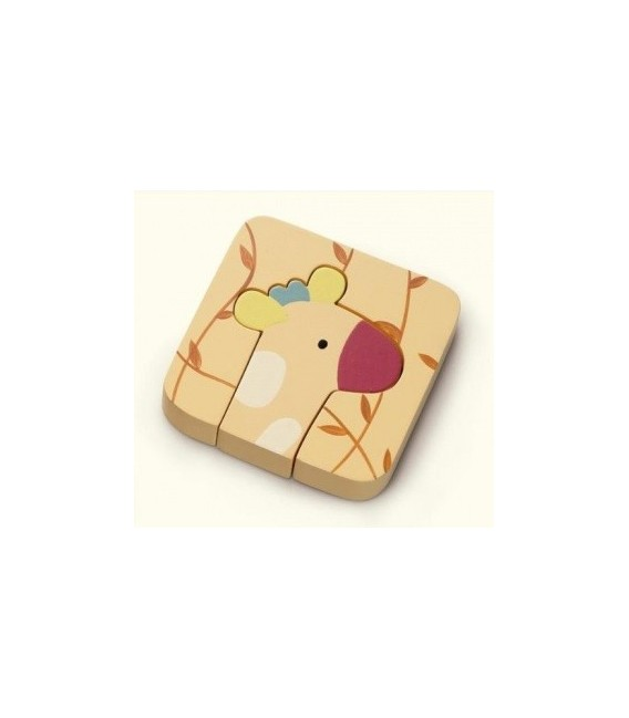 Jungleloo My First Wooden Puzzle - Giraffe