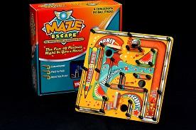 Pin Ball Maze Escape