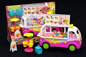 Shopkins™ Scoops Ice-cream Truck Playset